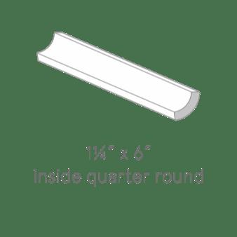 Inside quarter round