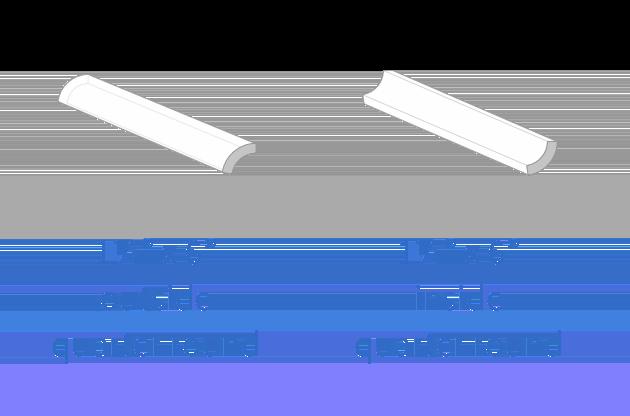 1 1⁄4″x6″ quarter round